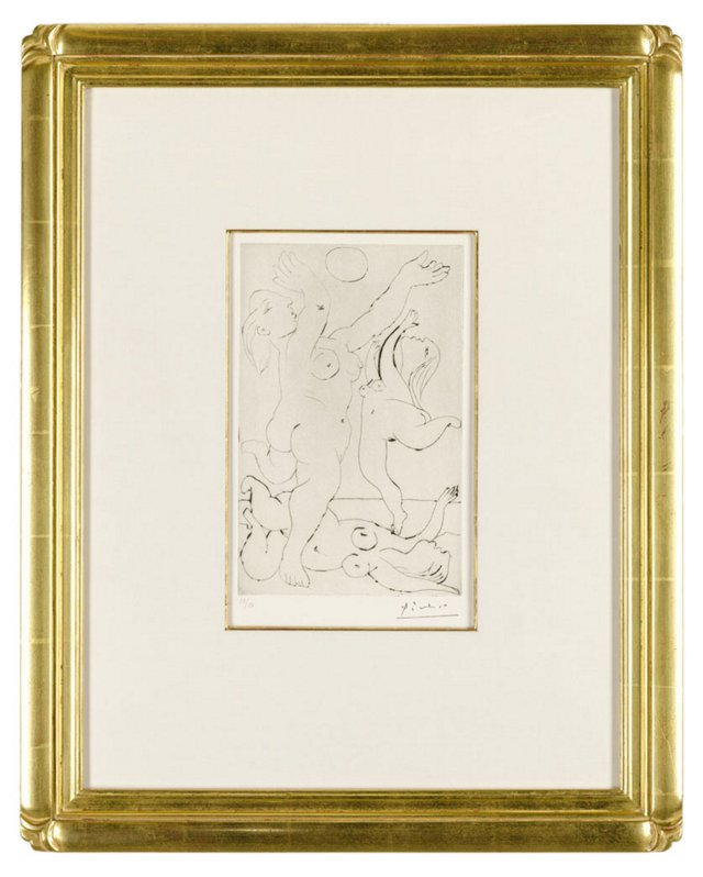 Picasso, Baigneuses Au Ballon III 1933