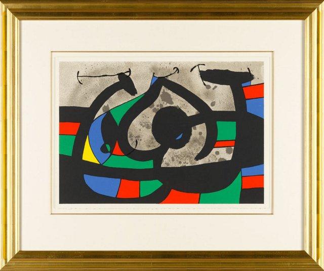 Miró, Untitled: Le Lezard Aux Plumes