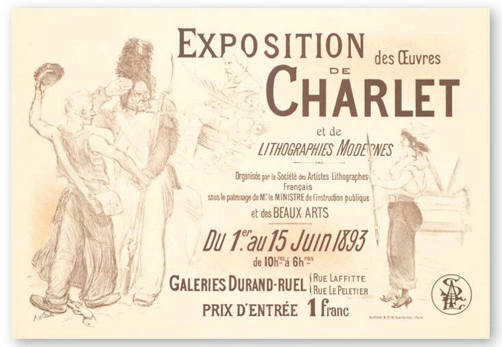 A. Willette, Exposition Charlet 1899