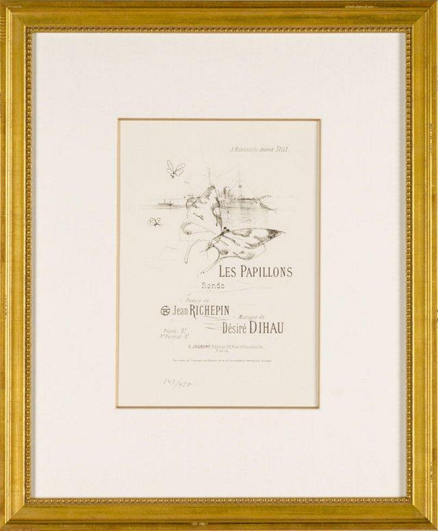 Toulouse-Lautrec, Les Papillons