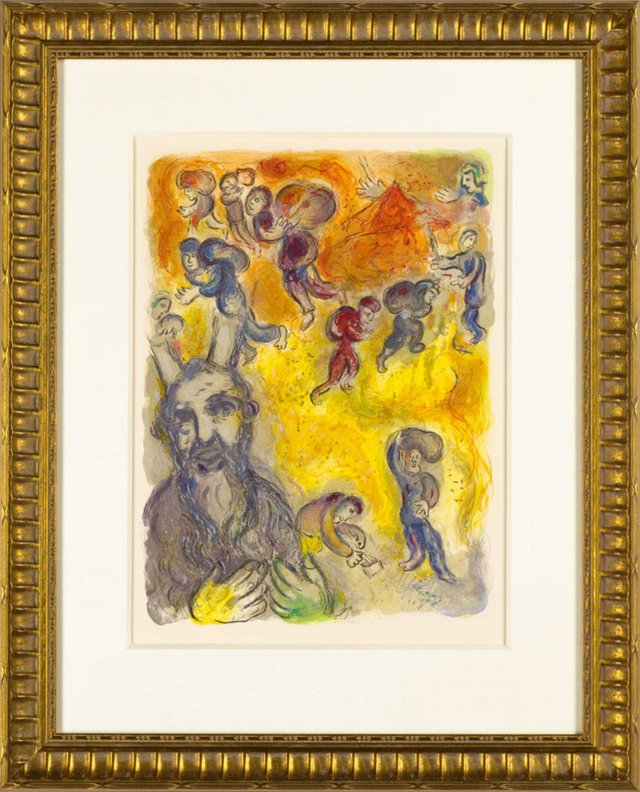 Marc Chagall, When Moses Was Grown 1966
