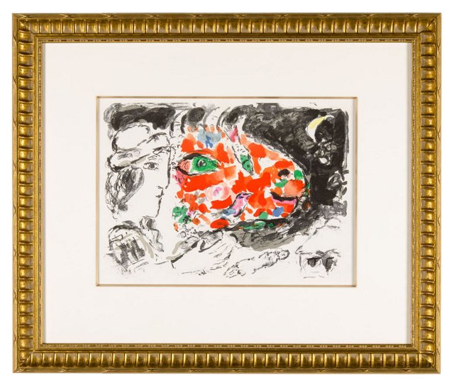 M. Chagall, Après L'Hiver (After Winter)