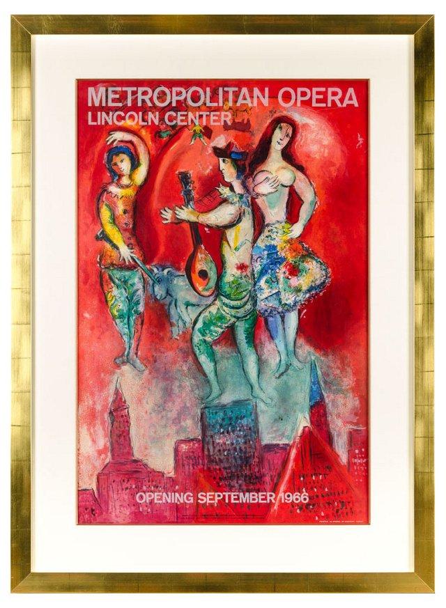 Marc Chagall, Carmen 1967