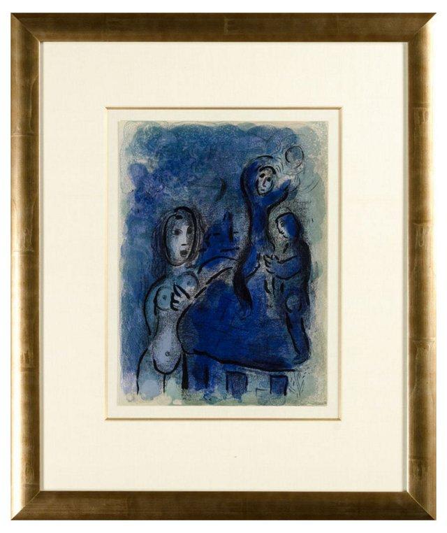 Chagall, Rahab Et Les Espions De Jéricho