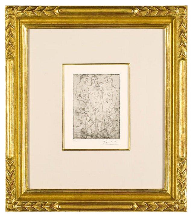 Pablo Picasso, Les Trois Baigneuses II