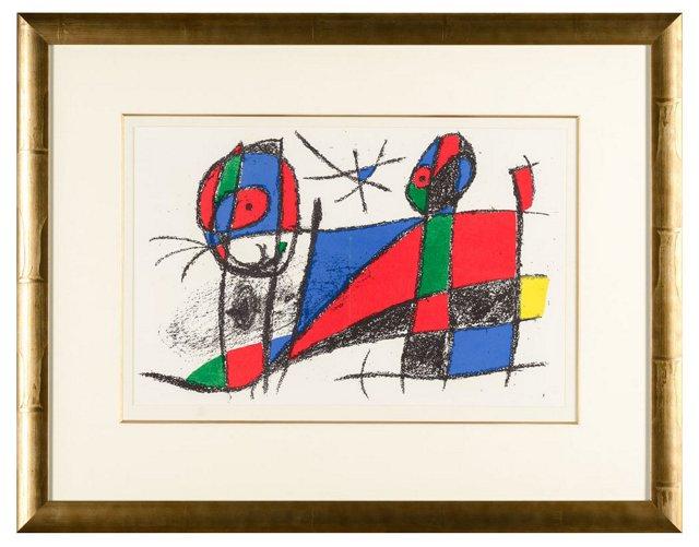 Untitled Joan Miró Lithographe II.1 1975