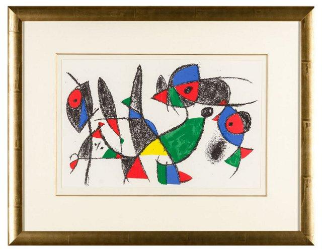 Untitled Joan Miró Lithographe II.3 1975