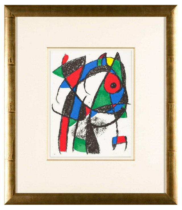 Untitled Joan Miró Lithographe II.5 1975