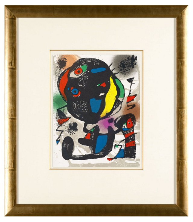 Untitled Joan Miró Lithographe IV.2 1981