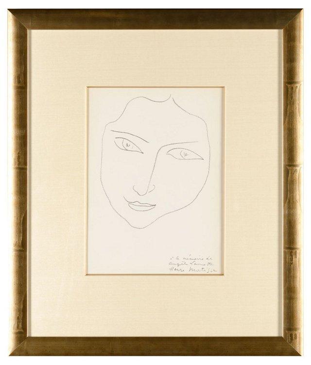 Matisse, À La Mémoire De Angèle Lamotte