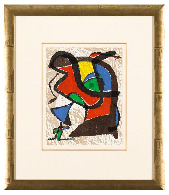 Joan Miró, Graveur IV 1981
