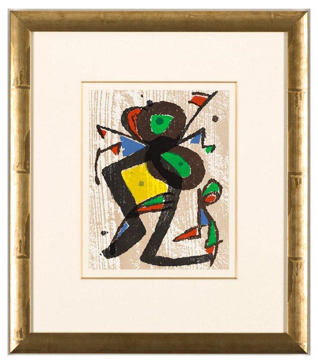 Joan Miró, Graveur II 1981