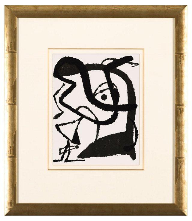 Joan Miró, Graveur XI 1981