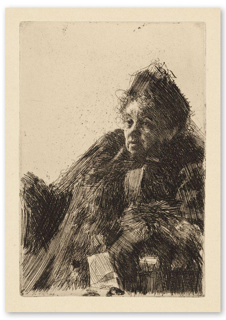 Andres Zorn, Madame Simon II 1891
