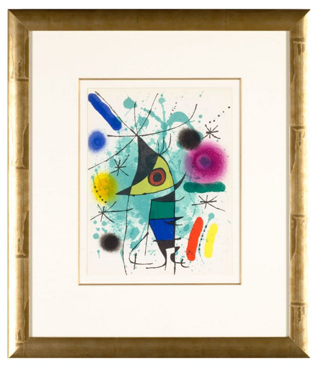 Untitled From Joan Miró Lithographe I.II