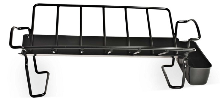 Roasting Rack w/ Juice Reservoir, Black