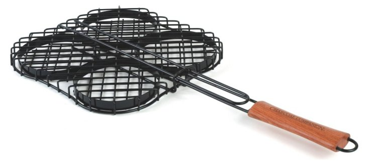 Non-Stick Hamburger Grilling Basket