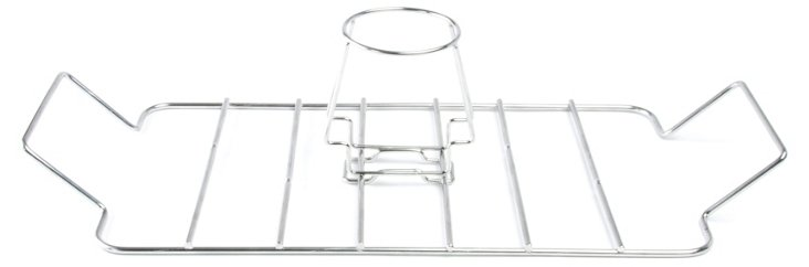 Poultry Roasting Rack, Silver