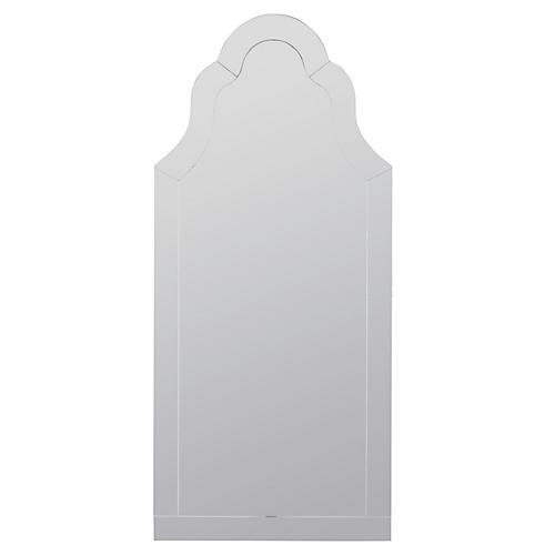 Nunez Wall Mirror, Clear