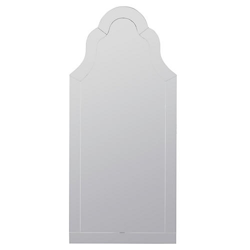 Nunez Wall Mirror, Clear
