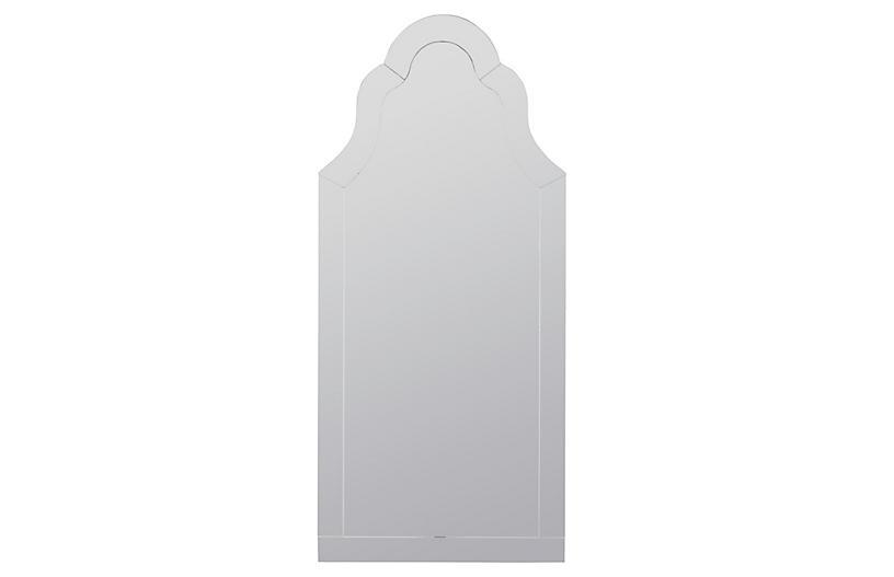 Nunez Wall Mirror, Mirrored