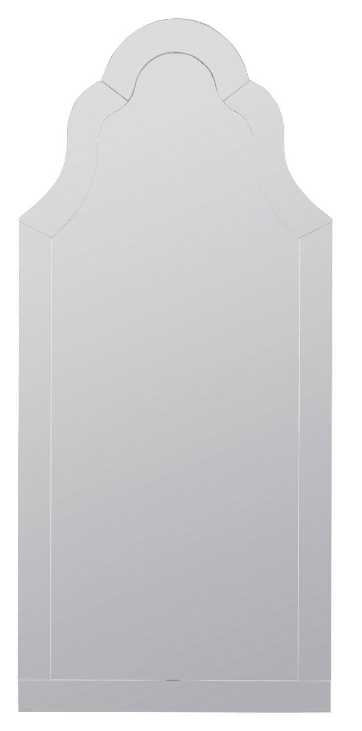 Nunez Wall Mirror, Silver