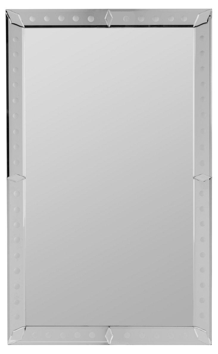 Stapleton Wall Mirror, Silver