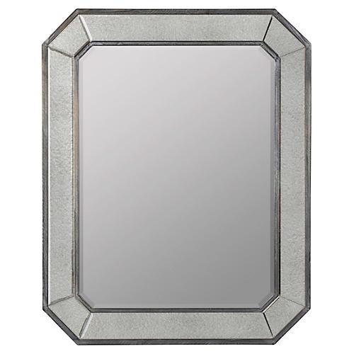 Donato Wall Mirror, Gray
