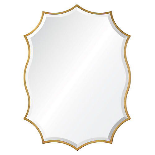 Cho Wall Mirror, Gold