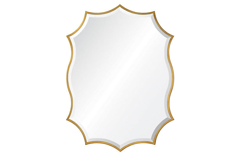 Cho Wall Mirror - Gold