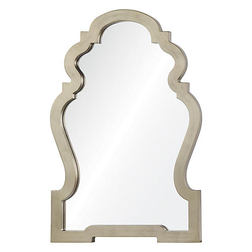 Harrison Wall Mirror, Silver