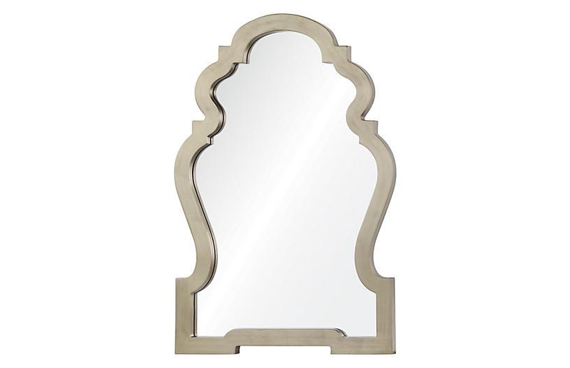 Harrison Wall Mirror, Silver