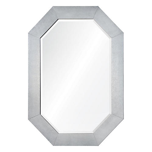 Marcos Wall Mirror, Silver