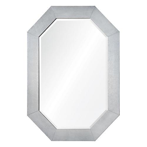 Ryan Wall Mirror, Silver