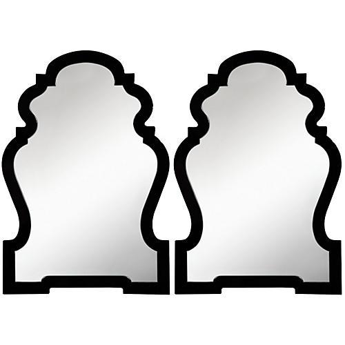 Harrison Wall Mirrors, Black