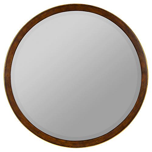 Zola Mirror, Mahogany