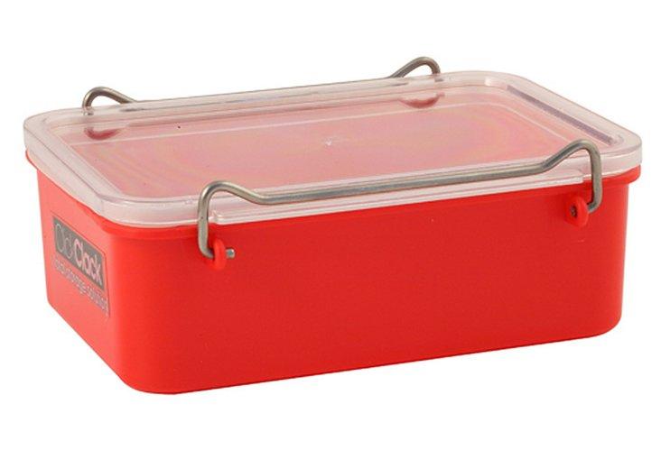 0.6 Qt. Airtight Box, Red