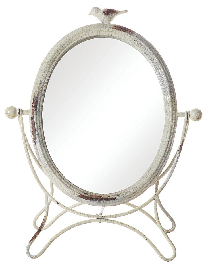 Vanity Mirror w/ Bird