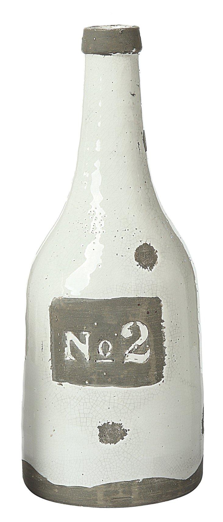 "17"" Terracotta ""No. 2"" Vase"