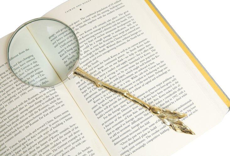 Twig Handle Magnifying Glass