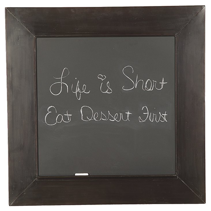 Metal Framed Chalkboard