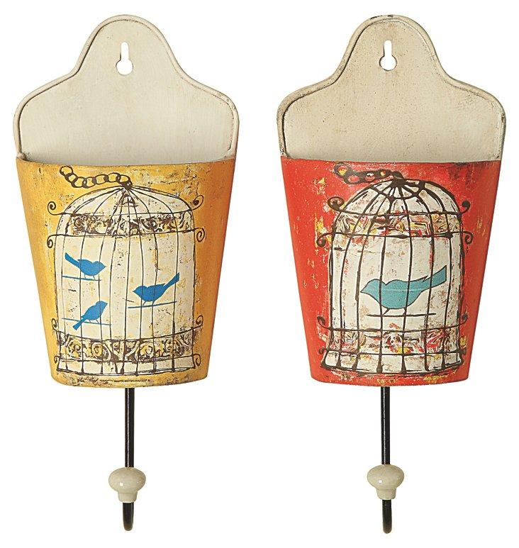 Birdcage Pocket Hook Set