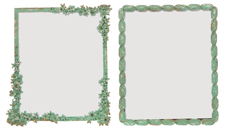 Pewter Frames, Asst. of 2