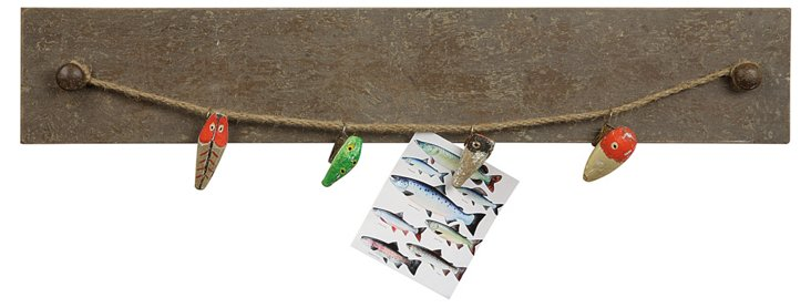 Fishing Lure Wall Plaque