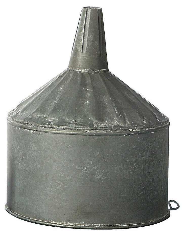 "12"" Tin Funnel"