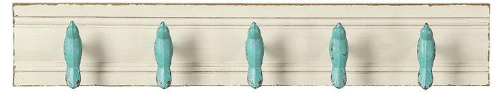 Blue Bird Wall Hook