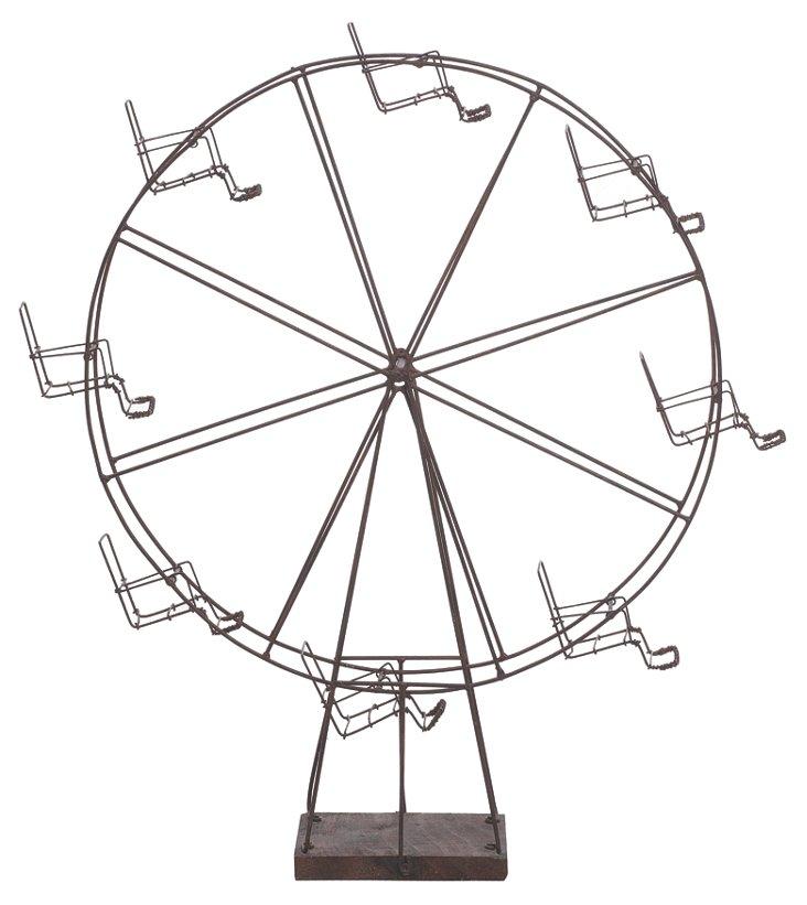 """22"""" Wire Ferris Wheel"""