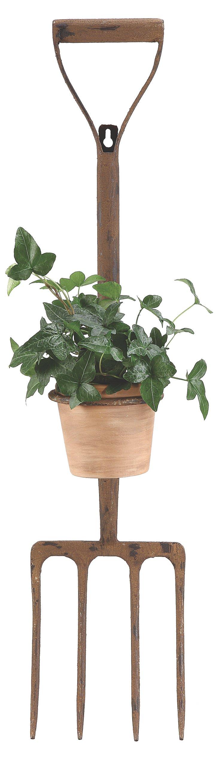 Terracotta Pitchfork Planter