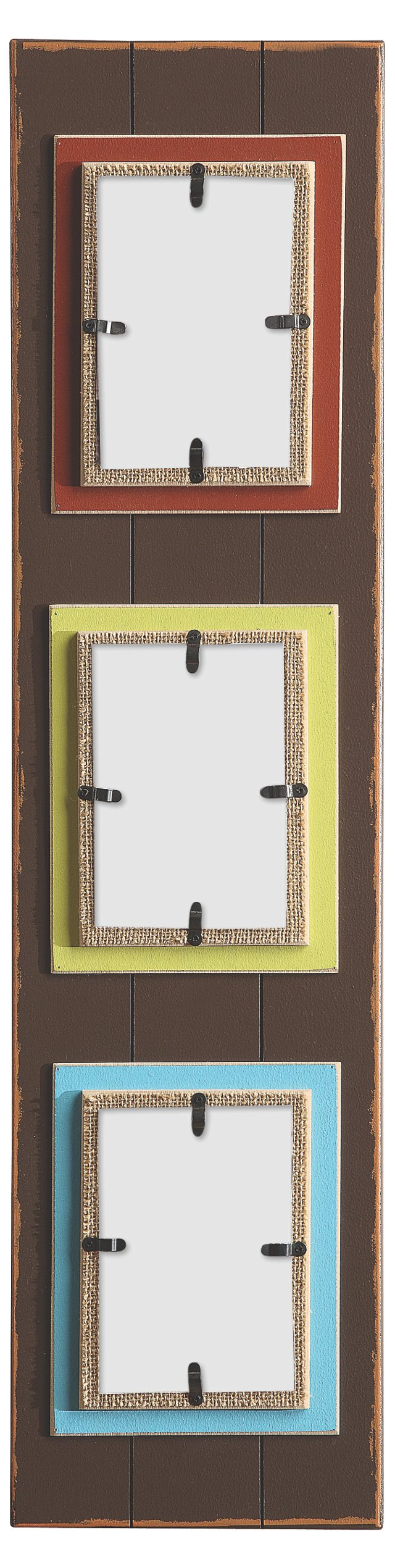 Vertical Photo Frames, 4x6, Asst of 3