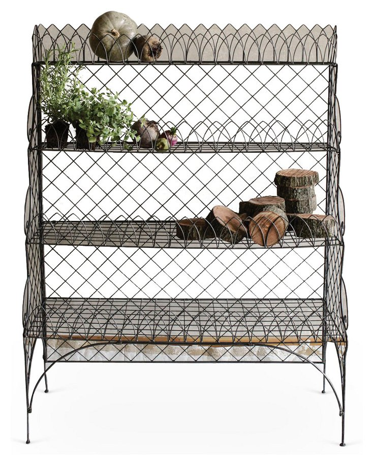4-Shelf Wire Organizer